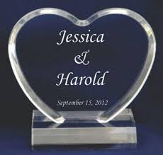 how to your cake topper wedding cake toppers these personalized acrylic toppers highlight