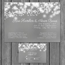 bubble lights wedding invitation string lights engagement