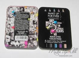 Makeup Forever Airbrush Aqua Eyes Collection Set By Make Up For Ever Review And Swatches