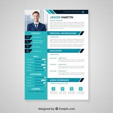 psd resume template cv template vectors photos and psd files free