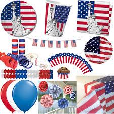 Usa Flag Photos 10 Fähnchen Usa Als Deko Für Mottoparty Oder Länder Party