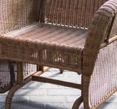 Outdoor Patio Rocking Chairs Outdoor Patio Glider Chair Resin Wicker Rocking Swing Porch