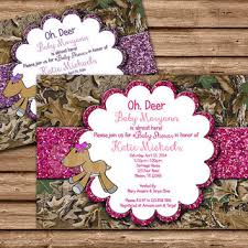 camo baby shower invitations oh deer baby shower deer baby shower from partyprintexpress on