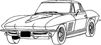coloring pages drifting cars corvette stingray coloring pages murderthestout