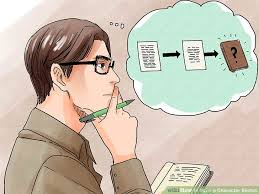 how to write a character sketch with pictures wikihow