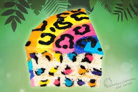 rainbow leopard cake beanie boo birthday dorty