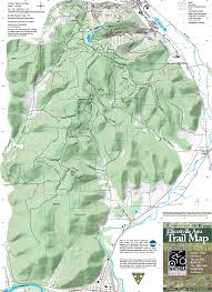 Letchworth State Park Map by Map Central