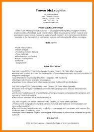 Public Relation Resume 8 Public Relations Resume Samples Offecial Letter