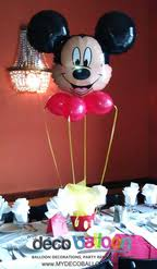 mickey mouse clubhouse centerpieces balloon decorations balloon decorations in new jersey balloon