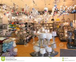 lighting department in a store editorial stock photo image