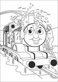 thomas train colotring pages