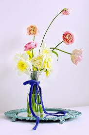 how to prevent a simple floral arrangement from looking cheap