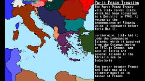 Map Of Europe World War 2 by The Treaties Of World War Ii Youtube