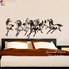 popular wall horse stickers buy cheap wall horse stickers lots traditional chinese horses wall sticker bedroom living room farm animals horses wall decal kids room vinyl