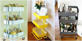 Kitchen Carts Ikea by Ikea Raskog Cart Ideas Raskog Ikea Hacks