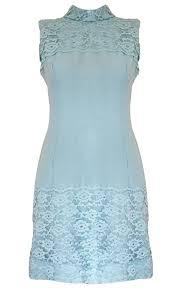 sienna u0027 duck egg blue vintage 1960 u0027s shift dress size 8 10