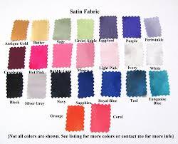 choose color satin fabric samples satin fabric swatch choose color blush teal