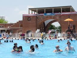 mccarren park pool attractions in greenpoint brooklyn