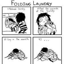 Folding Laundry Meme - folding laundry by wolf titan meme center