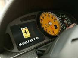ferrari speedometer ferrari 599 gtb fiorano one to one 2009 pictures information