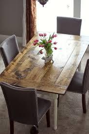 Build A Dining Room Table Best 10 Build A Farmhouse Table Ideas On Pinterest Diy Dining