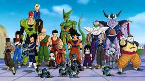 android 17 and 18 cell character trunks character vegeta gohan