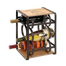 cross 18 bottle tabletop wine rack u0026 reviews allmodern