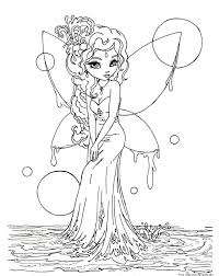 fairy coloring pages free printable kids coloring