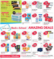 Office Depot Office Depot Office Max Weekly Ad 8 27 17 To 9 2 17