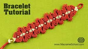 macrame flower bracelet images Macram diamond flower bracelet tutorial macrame school jpg