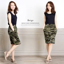 tight skirts a afashion rakuten global market cool camo pattern tight