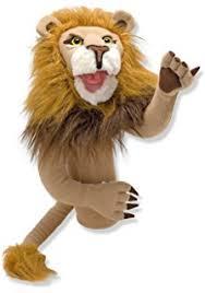 folkmanis lion puppet toys