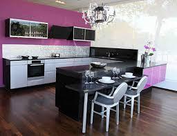 modern kitchen setup purple kitchen modern design normabudden com