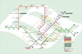 Metro Line Map by Mrt Singapore Metro Map Singapore