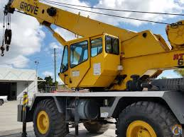 2000 grove rt640e rough terrain crane crane for in miami florida