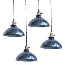 Light Blue Pendant Light Mesmerizing Blue Mercury Glass Pendant Lights At 1stdibs In The