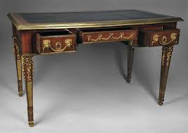 bureau style louis xvi neoclassical louis xvi writing table or bureau plat desk with bronze