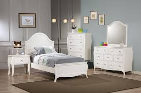 Black Twin Bedroom Furniture Sets Amazon Com Coaster Dominique Youth Bed In White Finish Twin