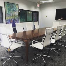 modern conference table design a modern office for the new year catherine french design