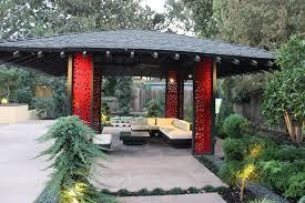Japanese Style Pergola by Contemporary Japanese Tea House Michael Glassman U0026 Associates