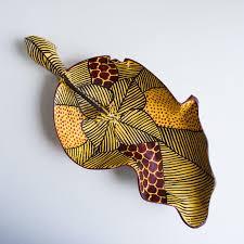 africa shaped drinking bowl decor hand painted u2013 manduwe com