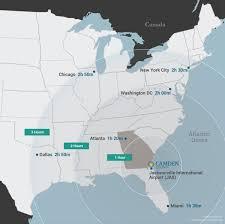 Atlanta County Map Area Maps Launch Camden