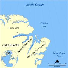 Greenland Map Wandel Sea Wikipedia
