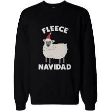 fleece navidad graphic sweatshirts x