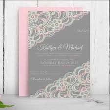 vintage lace wedding invitations lace wedding invitation template 5 x 7 vintage lace pink mint o