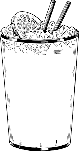 drink svg clipart ice tea