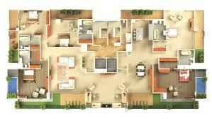 Sweet Home 3d Floor Plans by 2 Bedroom Modern House Plans 3d U2013 Modern House