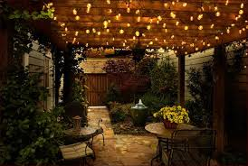 Outdoor Patio Lights Ideas Fascinating Patio String Lights Ideas Bestartisticinteriors