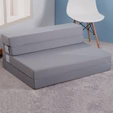 3 Fold Sofa Bed Mattress by Merax Tri Fold Foam Folding Mattress And Sofa Bed For Guests Floor