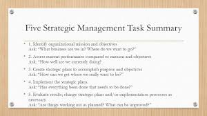 strategic management process ppt video online download